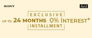 EXCLUSIVE 24 MONTHS 0% INTEREST